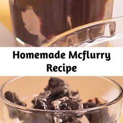 Homemade Mcflurry Recipe
