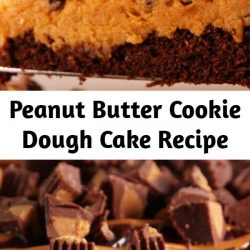 If you like shoveling mounds of cookie dough into your face, you're going to love this cake.