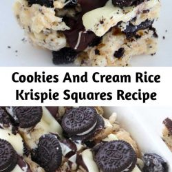 It's true, you've died and gone to cookies and cream heaven. Marshmallows, white chocolate, Oreos & chocolate chips - what's left to say?